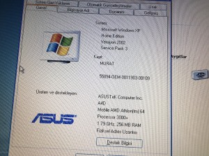 ASUS A4000 Notebook.